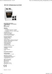 EH 531 G Elektroherd mit Grill - Obi