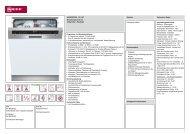 Neff S41M53N7EU GI4NTSpüler 60cm integriert Edelstahl ... - Obi