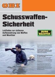 Plakat_A4 Waffengesetz EAN.indd - Obi