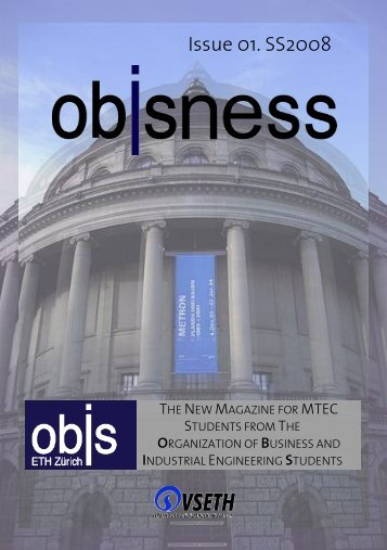 Issue 01. SS2008 - OBIS