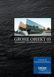 Objektreportage als PDF - grohe objekt 11