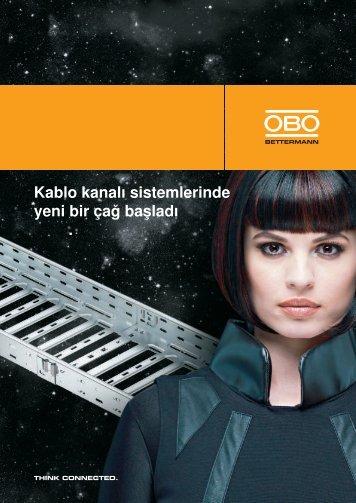 Magic kablo kanalı sistemi - OBO Bettermann