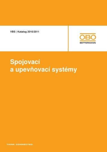 VBS | Systémy kabelových vývodek, mosaz - OBO Bettermann