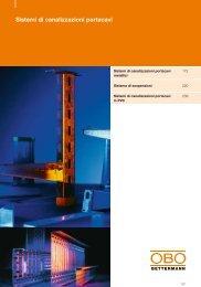 Sistemi di canalizzazioni portacavi - OBO Bettermann