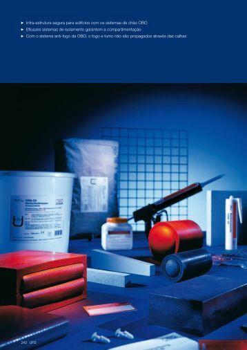 UFS. Sistema de protecção contra incêndio - OBO Bettermann