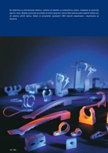 VBS. Sistemi za pričvršćivanje kablova i cevi, od ... - OBO Bettermann