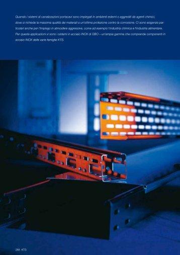 KTS. Sistemi in acciaio inossidabile - OBO Bettermann