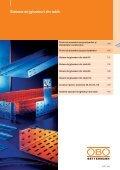 KTS. Sisteme de jgheaburi metalice - OBO Bettermann - Page 2