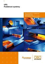 UFS Podlahové systémy - OBO Bettermann