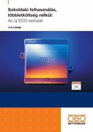 Az új ECO-sorozat - OBO Bettermann