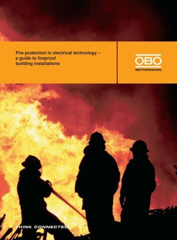 a guide to fireproof building installations - OBO Bettermann