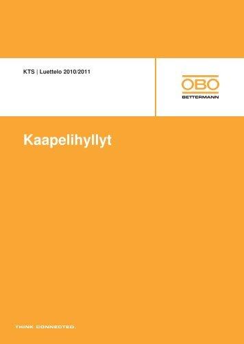 KTS | Kannatusjärjestelmät - OBO Bettermann