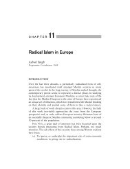 Radical Islam in Europe - Observer Research Foundation