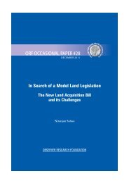 In Search of a Model Land Legislation - Observer Research ...
