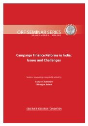 Campaign Finance Reforms in India: Issues and Challenges