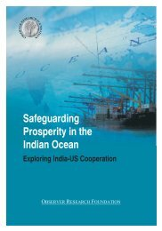 Safeguarding Prosperity In The Indian Ocean - Observer Research ...