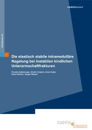 Die elastisch stabile intramedulläre Nagelung bei instabilen - Dimdi