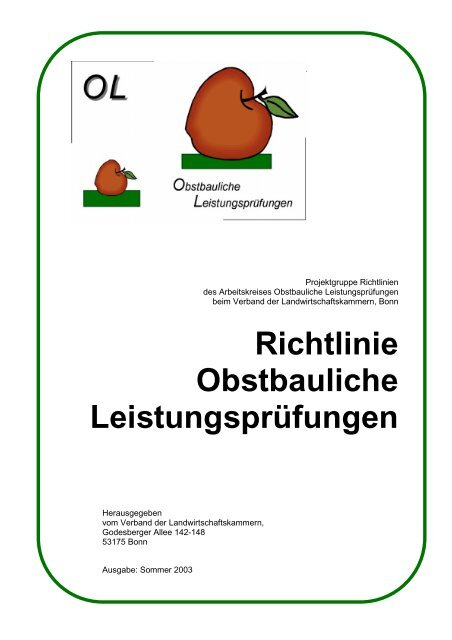 Deckblatt Innenpdf Obstbau
