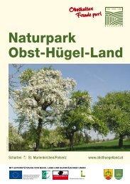Broschüre Naturpark Obst-Hügel-Land