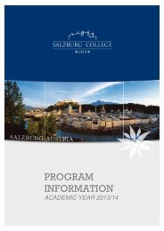 SC Program Information 2013-14