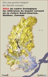 Vers une gestion intégrée des bassins versants - Organisme des ...