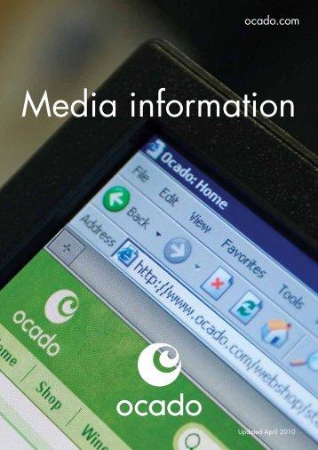 Media information - Ocado