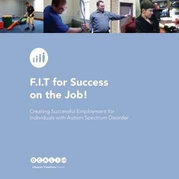 F.I.T for Success on the Job! - Ohio Center for Autism and Low ...
