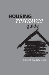 HOUSING Resource - AIDS Services Foundation Orange County