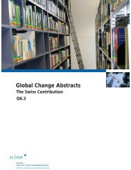 Global Change Abstracts - OcCC
