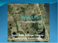 Rybolt Park - Orange County Comptroller