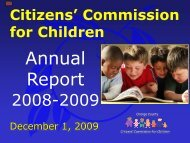 Citizens Commission Children Annual Report - Orange County ...