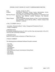 2012-01-10 BCC Meeting Minutes.pdf - Orange County Comptroller