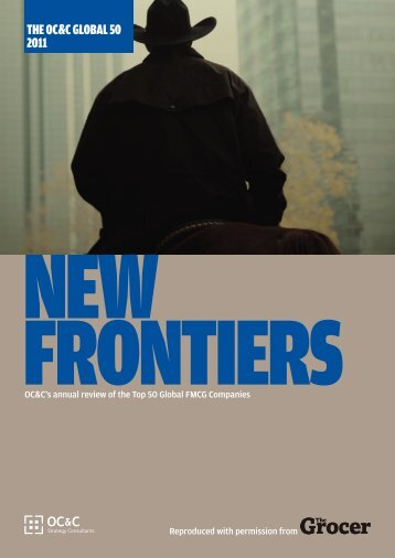 new frontiers - OC&C Strategy Consultants
