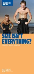 size isn't everything? - OC&C Strategy Consultants