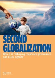 How it is reshaping corporate governance and CEOs' agenda