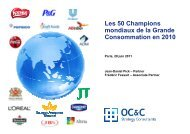 Les 50 Champions de la Grande Consommation - OC&C Strategy ...