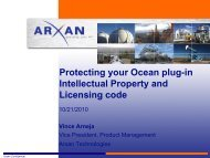 Protecting your Ocean plug-in Intellectual Property and Licensing code