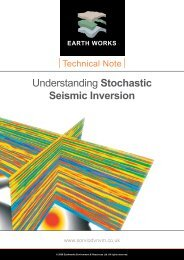 Understanding Stochastic Seismic Inversion - Earthworks