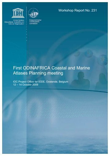 First ODINAFRICA Coastal and Marine Atlases ... - OceanDocs