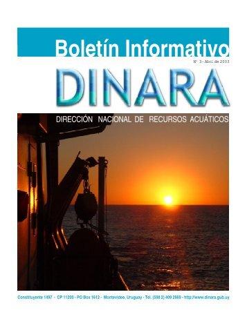 Boletín Informativo, nº 3, abril 2003.pdf - OceanDocs