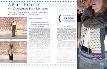 A Brief History - Fashion Takes Action
