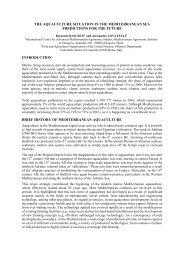 mediterranean aquaculture: marine fish farming development