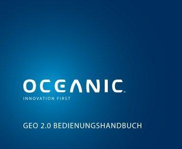 GEO 2.0 BEDIENUNGSHANDBUCH - Oceanic
