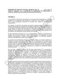 rd enfermeria _19.11.10 - Consejo General de Enfermería de España