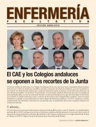 El CAE y los Colegios andaluces se oponen a los recortes de la Junta
