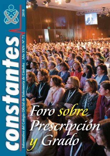 Informativo del Colegio Oficial de Enfermería de Córdoba Año XXIV ...