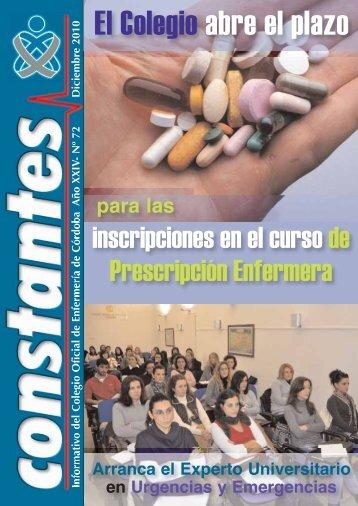 El Colegio abre el plazo - Consejo General de Enfermería de España