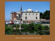 Mosque at the Black Sea Coastal City of Hopa, Turkey