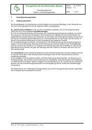 Umweltorganisation 2010 - Evangelische Kirchengemeinde ...