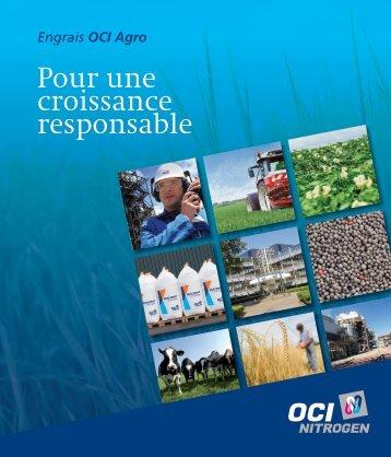 Brochure d'entreprise - OCI Agro - OCI Nitrogen